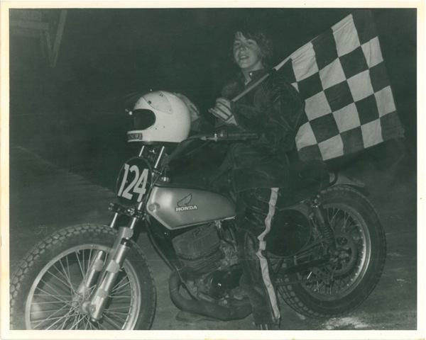 Russ Mathias Raceway In Ohio 1977 With The Checkered Flag At Holmes Hill Top Speedway 1976 Photos Provided By Ed Moneypenny